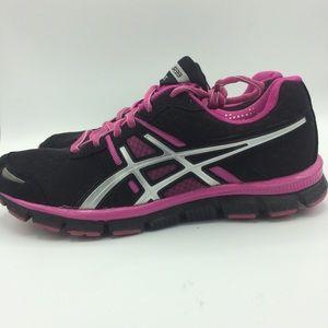 ASICS Gel Blurr 33 hot pink black T1H8N run shoes